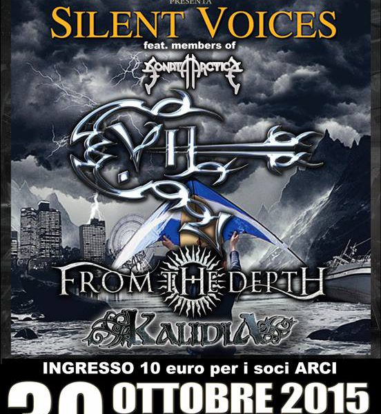 Silent Voices + E.Vil + From The Depth + guest @ Titty Twister